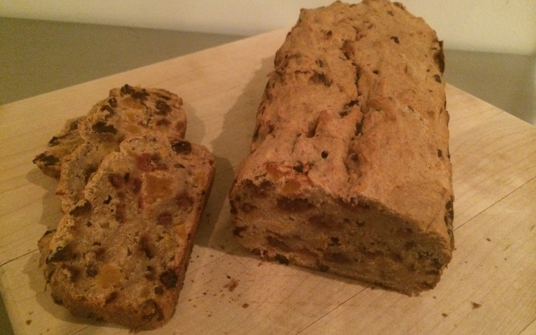 Banana, Apricot and Cherry Tea Bread