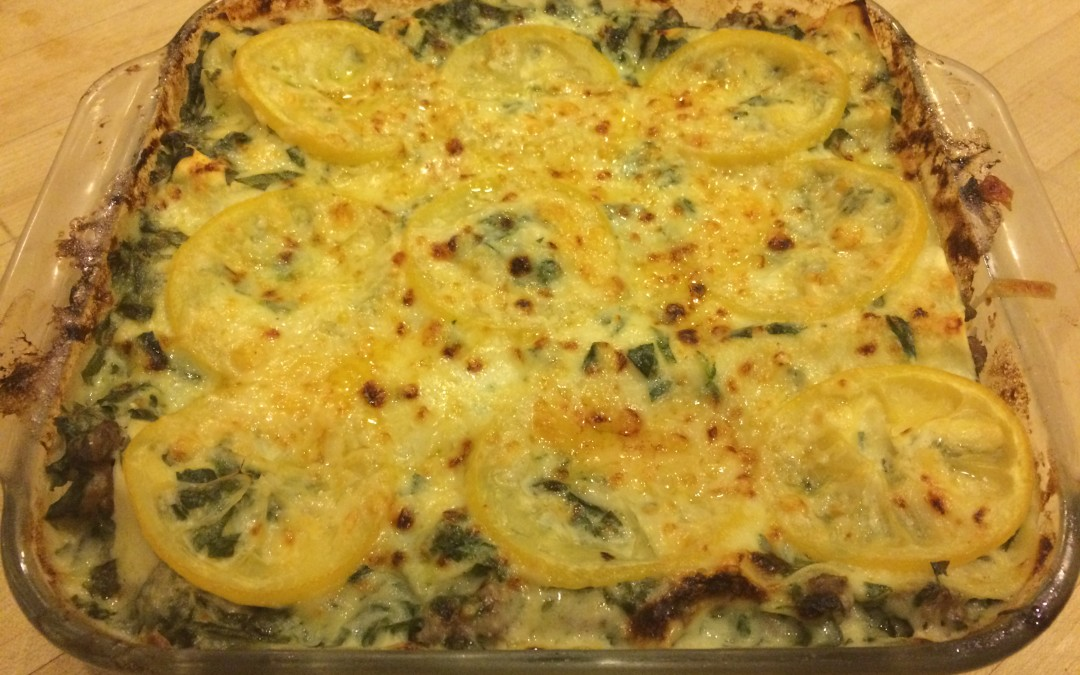 Swiss Chard and Lemon Lasagna