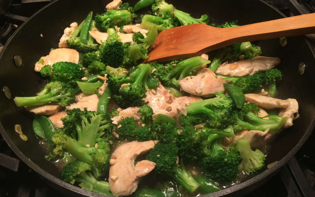 Broccoli Lemon Chicken