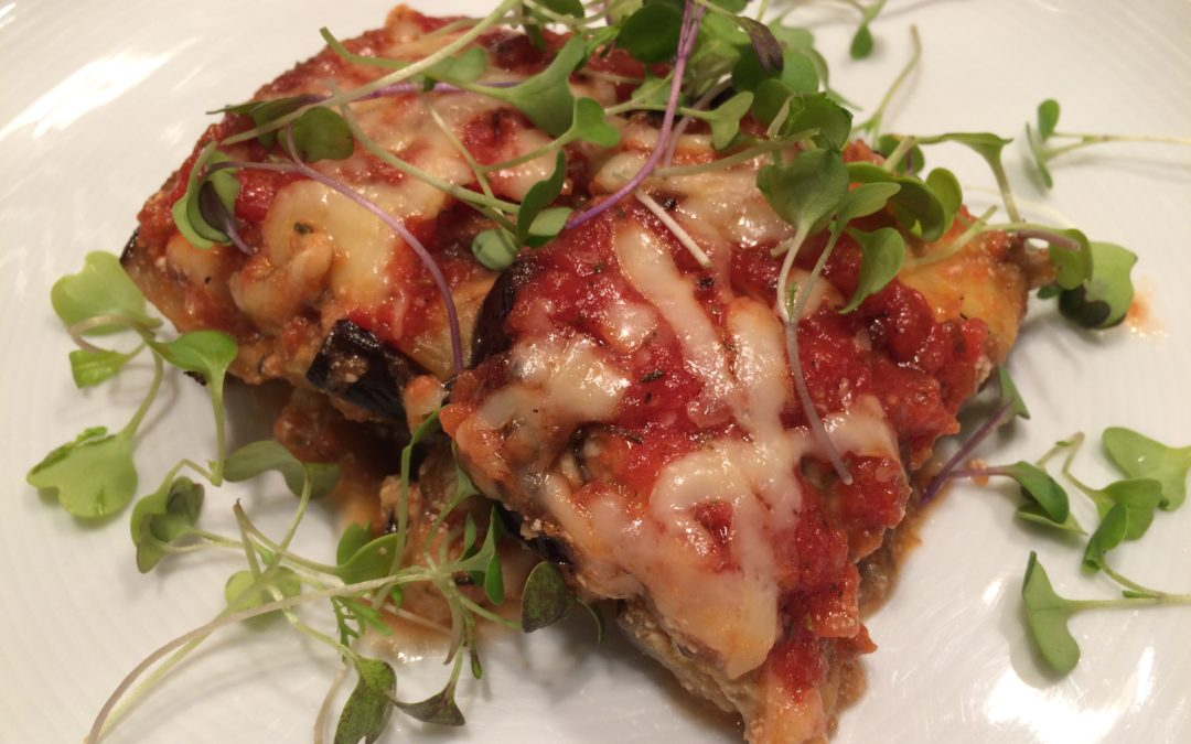 Eggplant Lasagna with Fresh Herbs