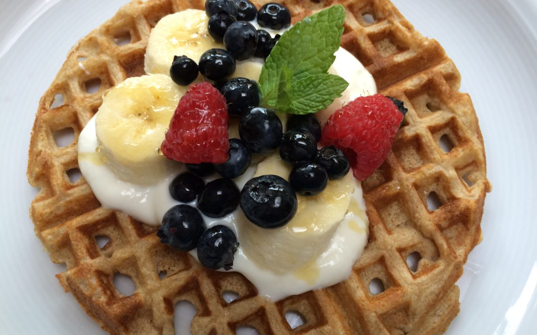 Whole Wheat Kefir Waffles